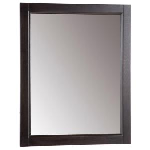 Glacier Bay Chelsea 22 inch W x 27 inch H Wall Mirror in Charcoal by Glacier Bay