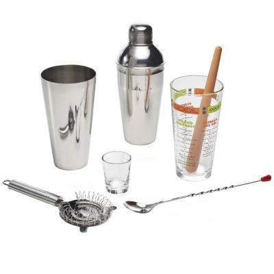 Mixologist 9-Piece Clear Cool Cocktail Set