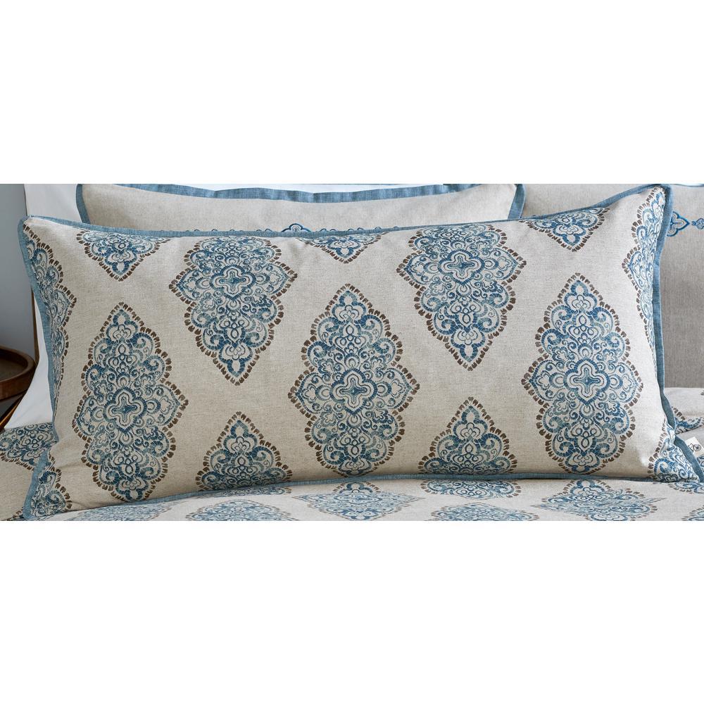 Monroe Printed Bolster Pillow