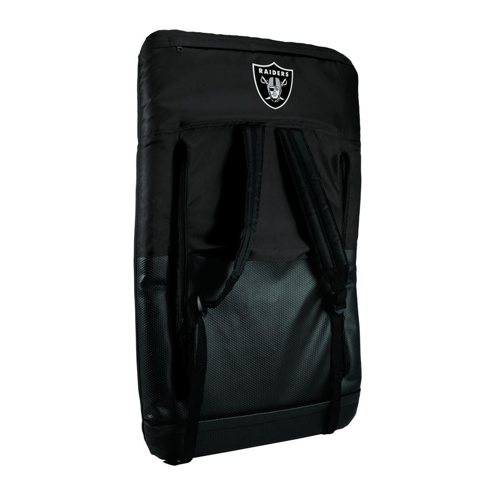Picnic Time Ventura Oakland Raiders Black Patio Sports