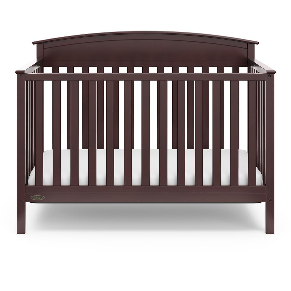 Benton Espresso 4 in-1-Convertible Crib