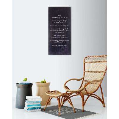 "15 in. W x 32 in. H ""Beginning"" by JLB Printed Wall Art"