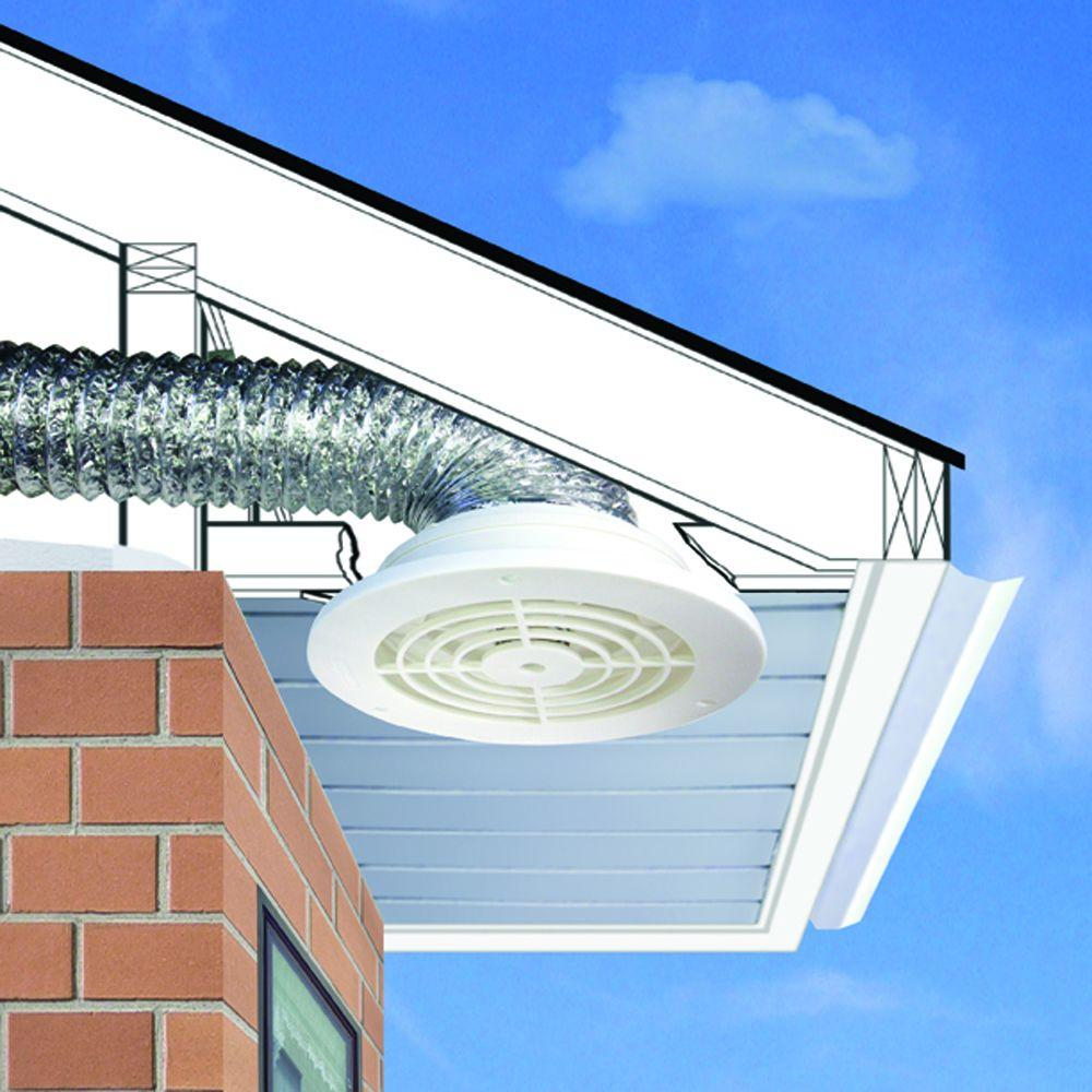 Everbilt 4 In 6 In Soffit Exhaust Vent Sevhd The Home Depot