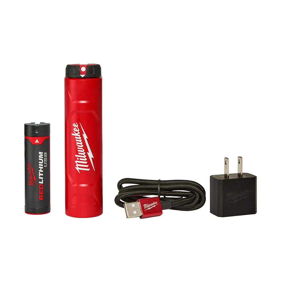 Milwaukee REDLITHIUM USB Battery and Charger