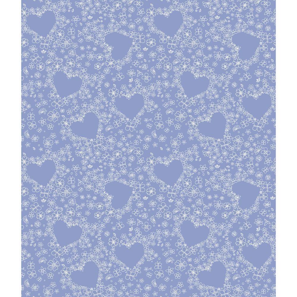 York Wallcoverings Hearts Wallpaper
