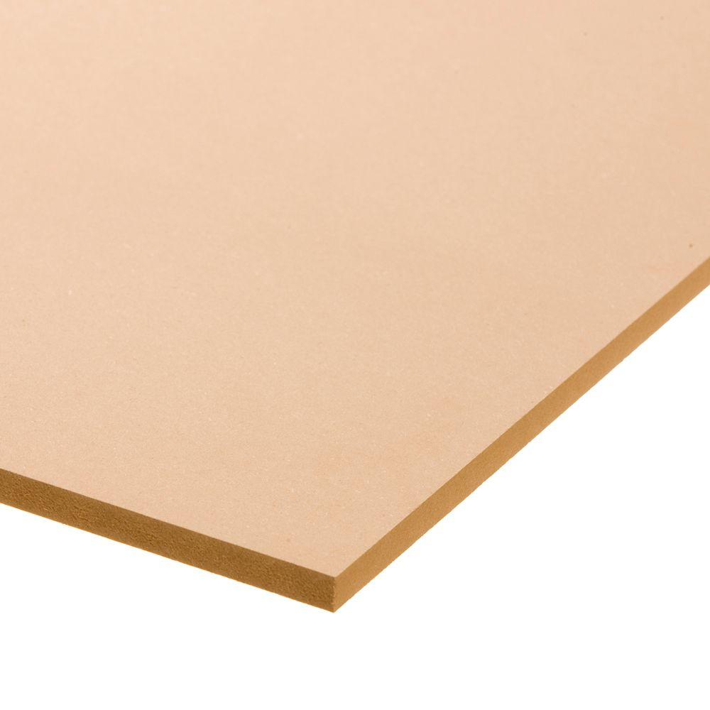 Medium Density Fiberboard Home Depot ~ Medium density fiberboard common in ft