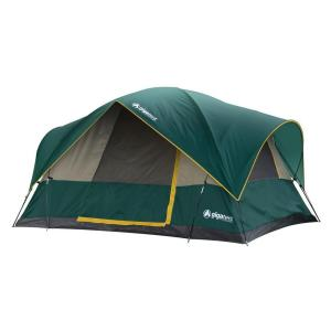 Mountain Adams 5-Person Dome Tent  sc 1 st  The Home Depot & Coleman Evanston 6-Person Screened Modified Dome Tent-2000007825 ...