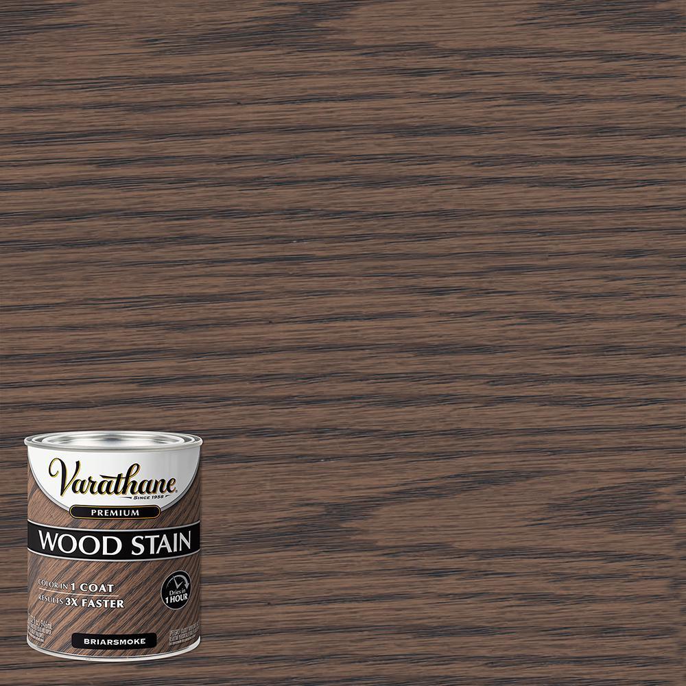 Varathane 1 qt. Briarsmoke Premium Fast Dry Interior Wood Stain (2-Pack)