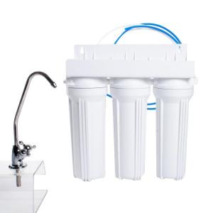Click here to buy Anchor USA 3-Stage Under Counter Water Filtration System in White by Anchor USA.