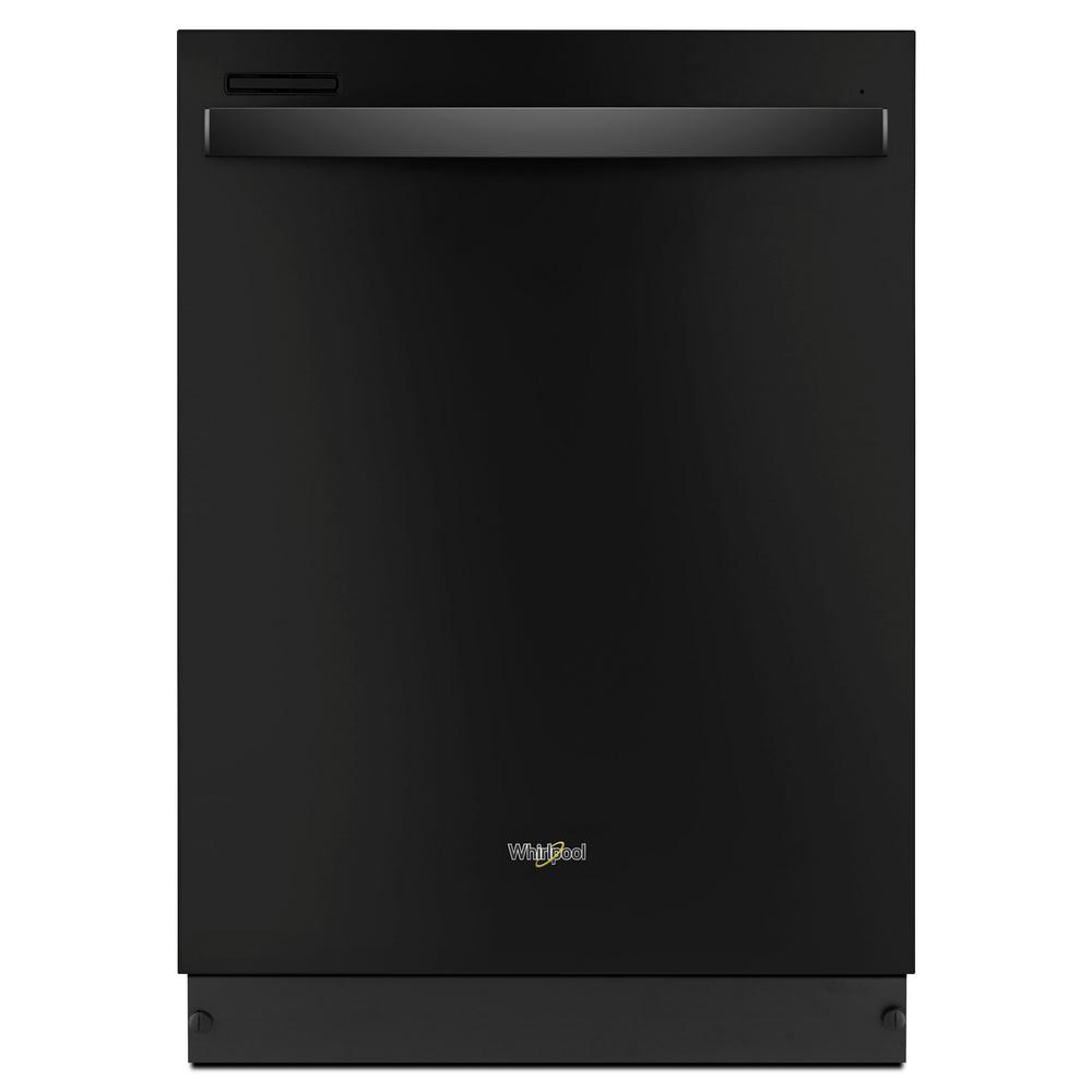 Whirlpool Top Control Built-In Tall Tub Dishwasher in Black with Sensor Cycle, 51 dBA