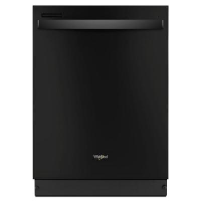 Top Control Built-In Tall Tub Dishwasher in Black with Sensor Cycle, 51 dBA