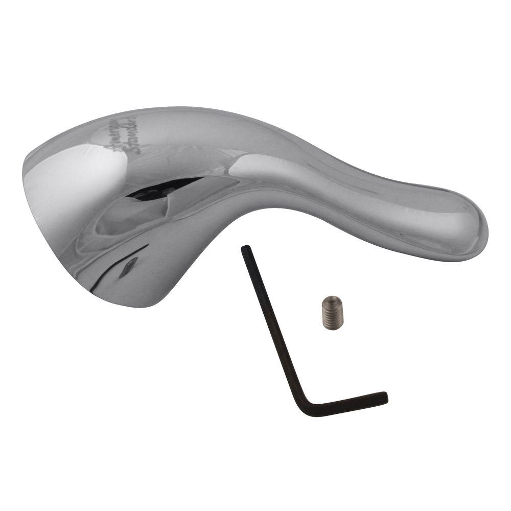 Plastic Lever Handle Kit for Cadet 8115/8114, Polished Chrome