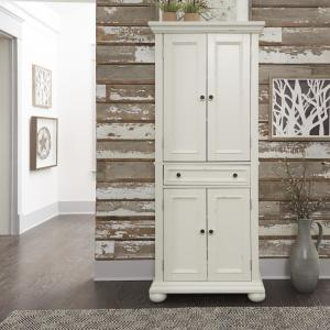HOMESTYLES Dover White Kitchen Pantry 5427-69 - The Home Depot