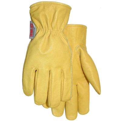 Leather Glove with Thermolock Lining