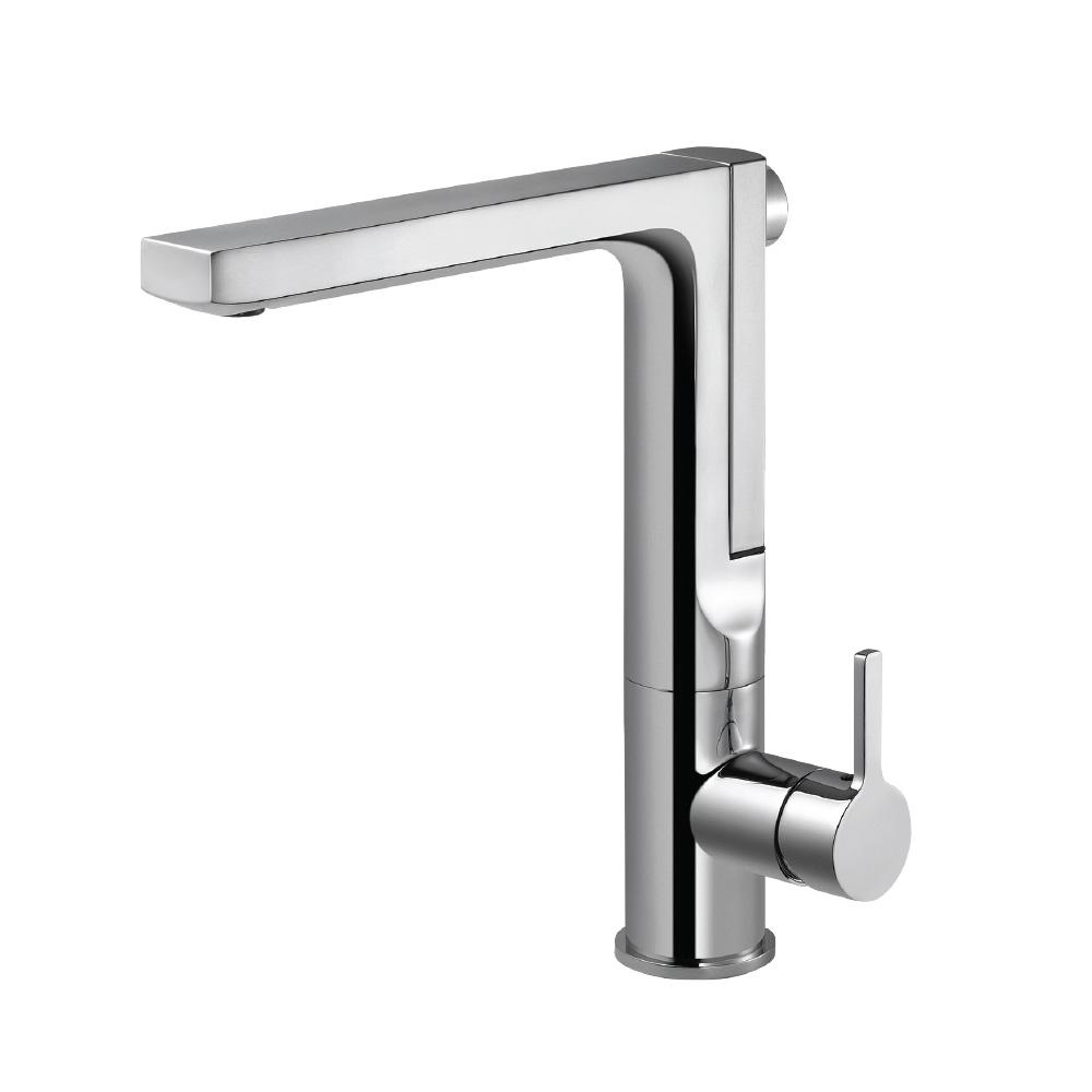 HOUZER Ascend Single-Handle Pull Out Sprayer Kitchen Faucet with ...