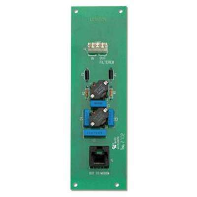 DSL Filter Board - Fits Easily into Structured Media Centers, Gray