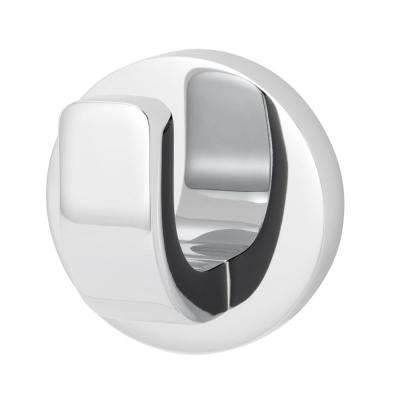Vector Single Robe Hook in Polished Chrome