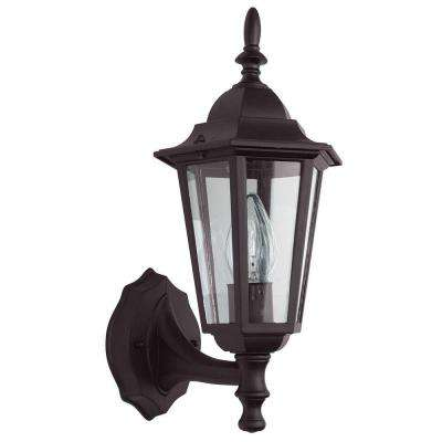 Gately 1-Light Oil Rubbed Bronze Outdoor Wall Lantern