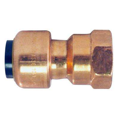 1/2 in. Copper Push-to-Connect x FPT Adapter