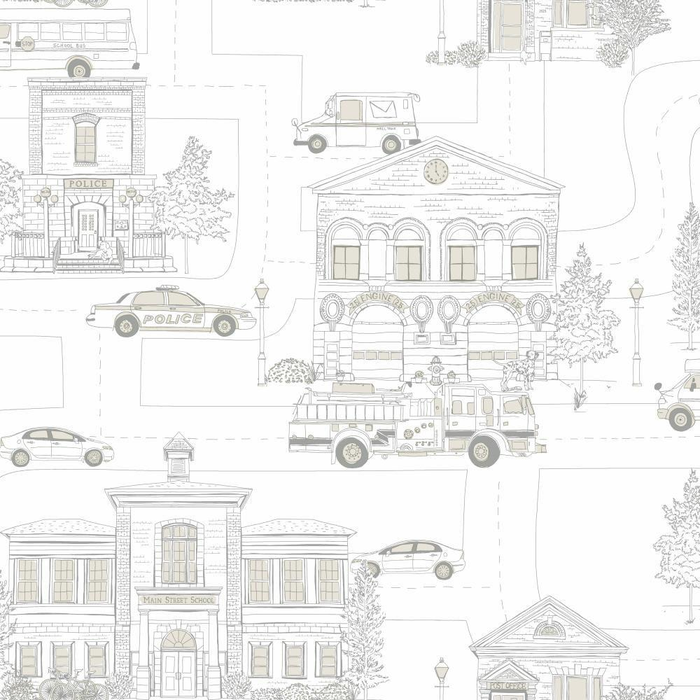 Main Street Wallpaper