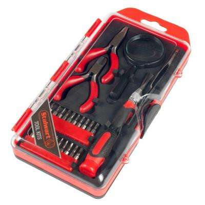 Precision Electronics, Repair and Hobby Tool Set (25-Piece)