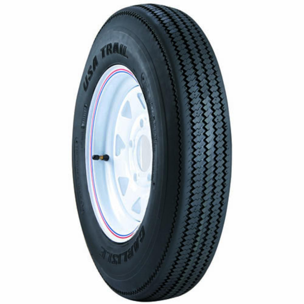 USA Trail 175/80D13/6 Trailer Tire (Tire Only - Wheel Not Included)