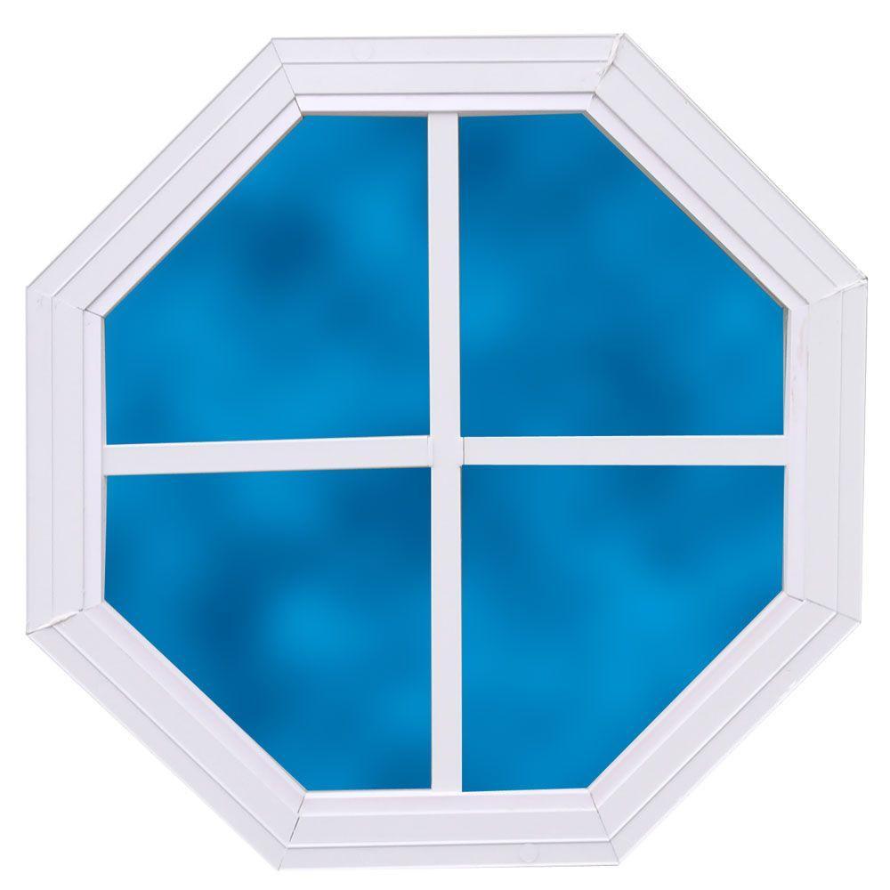 best barns 14 in x 14 in decorative octagonal window