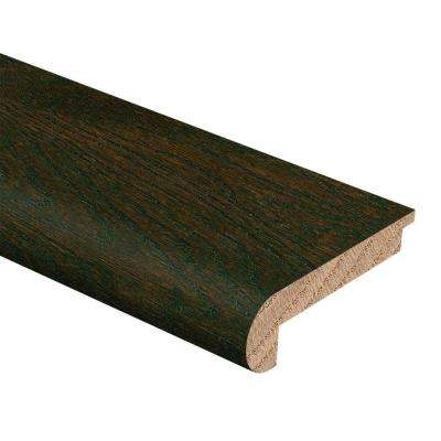 Oak Coffee 3/8 in. Thick x 2-3/4 in. Wide x 94 in. Length Hardwood Stair Nose Molding