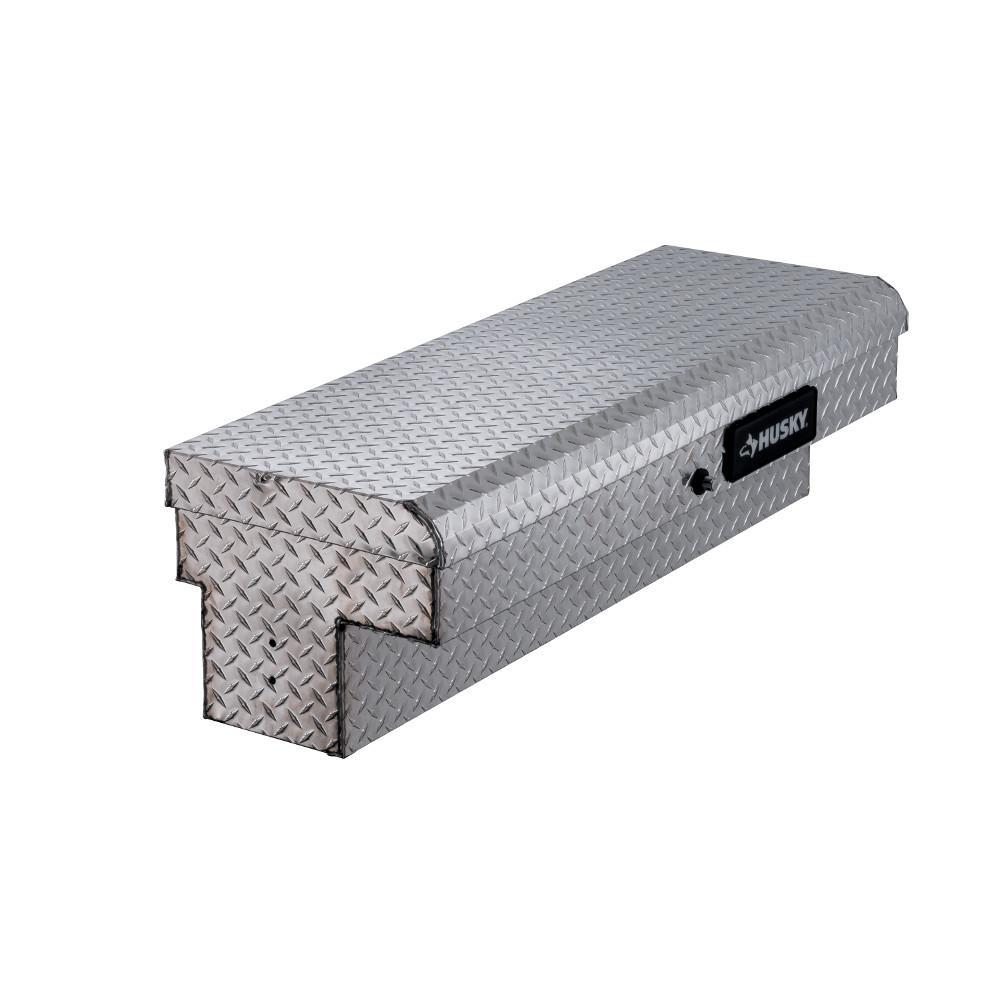 Husky 46.8 in. x 15.7 in. x 13.3 in. Aluminum Low Side Truck Box