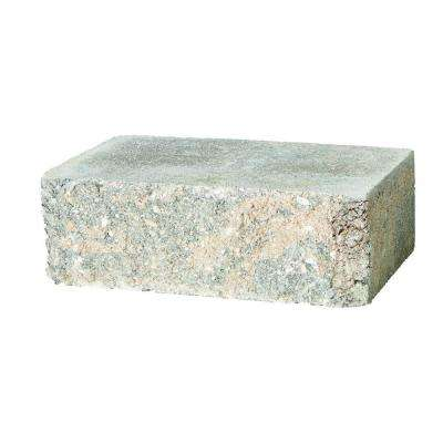 SplitRock Large 3.5 in. x 10.5 in. x 7 in. Charcoal/Tan Concrete Garden Wall Block (96 Pcs. / 24.5 Face ft. / Pallet)