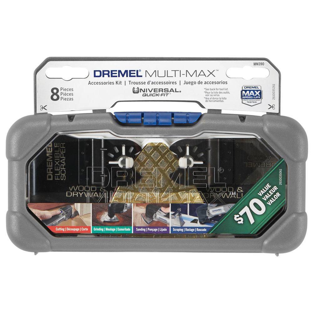 Dremel Multi-Max Oscillating Tool Cutting and Variety Kit (8-Piece)