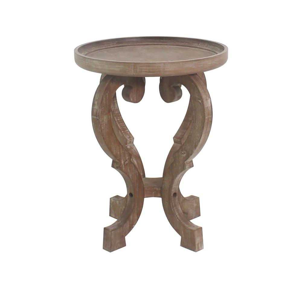 Carolina Classic Bartlett Natural Oak Side Table