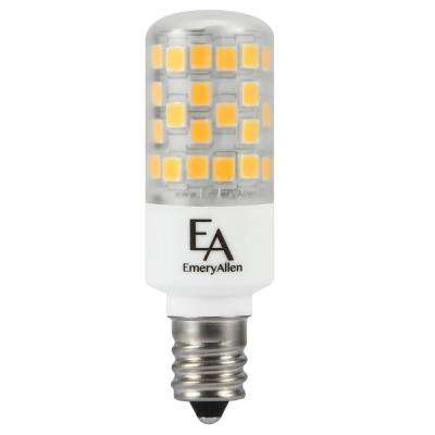 50-Watt Equivalent E12 Base Dimmable 4000K LED Light Bulb Cool White (2-Pack)