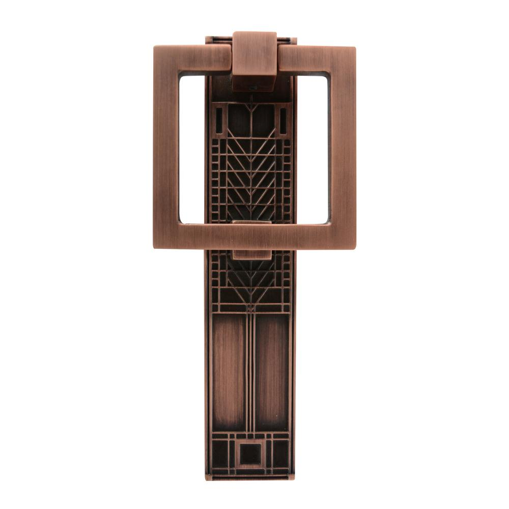 Architectural mailboxes frank lloyd wright collection tree of life antique copper door knocker - Frank lloyd wright ceiling fan ...