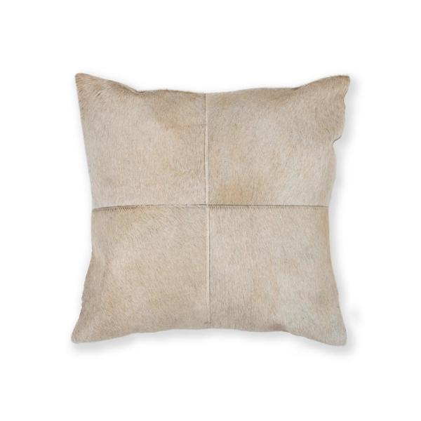 natural Torino Quattro Natural 18 in. x 18 in. Pillow