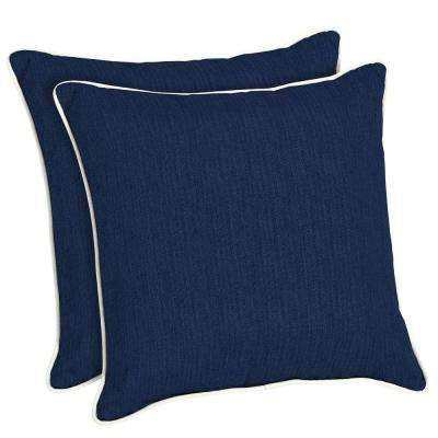 4 Up Square White Outdoor Pillows Patio Accessories The