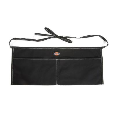 2-Pocket Light-Weight Canvas Tool / Work Apron in Black