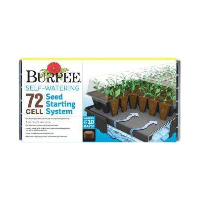 72-Cell Self-Watering Greenhouse Kit
