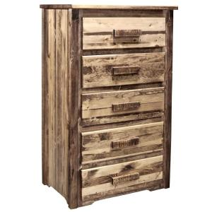 Homestead Collection 5-Drawer Early American Chest of Drawers