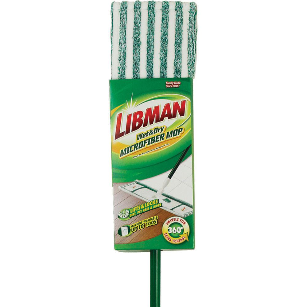 Libman Wet and Dry Microfiber Mop