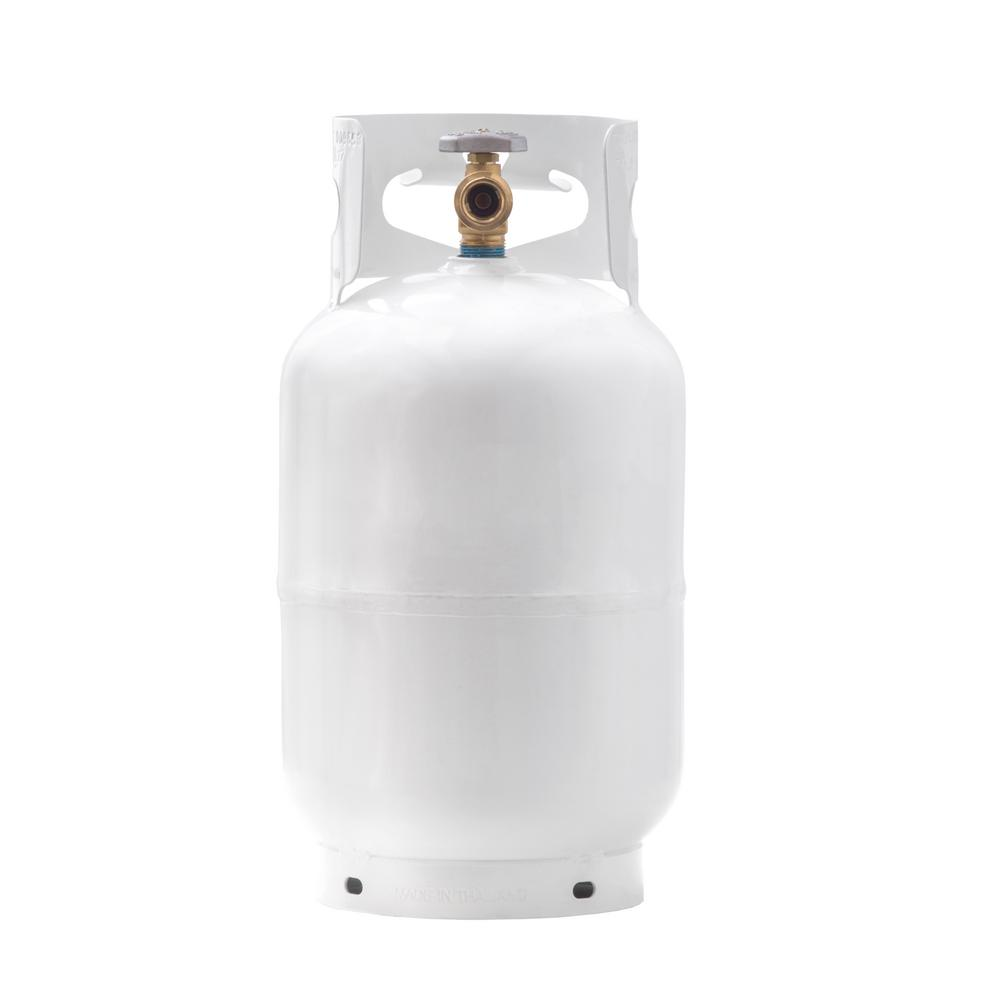 Flame King 11 lbs. Empty Propane Cylinder with Overflow Protection Device