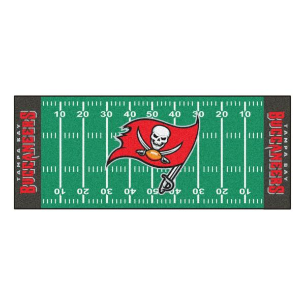 Tampa Bay Buccaneers 3 ft. x 6 ft. Football Field Runner Rug