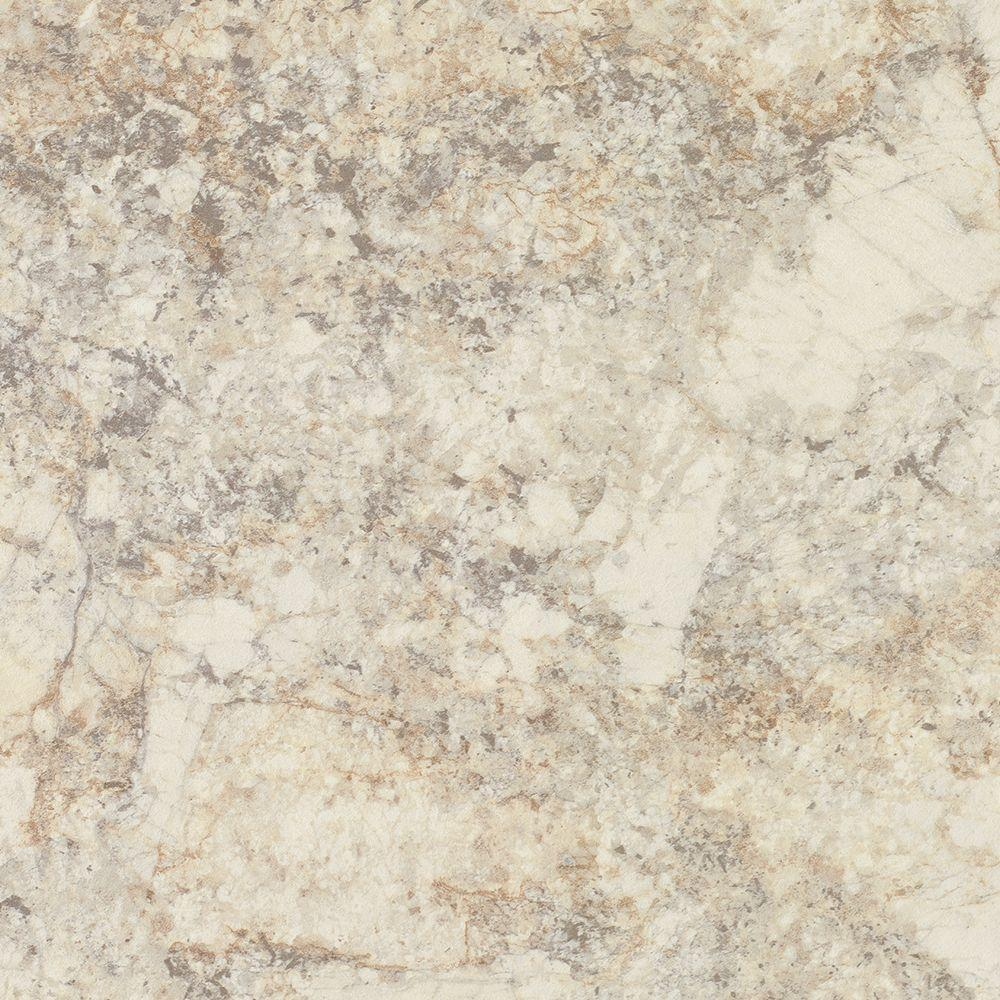 FORMICA 5 In. X 7 In. Laminate Countertop Sample In White Ice Granite With Artisan Finish-9476