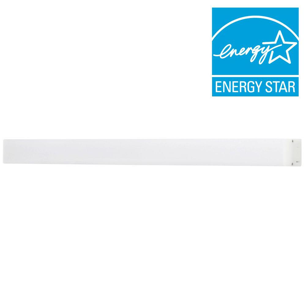 Satin 18 in. LED Silver Under Cabinet Light