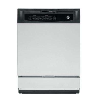 Front Control Dishwasher in Stainless Steel, 60 dBA