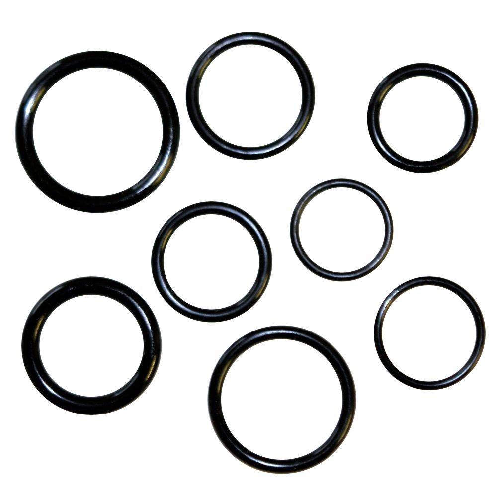 DANCO Large O-Ring Assortment (45-Piece)-10825 - The Home Depot