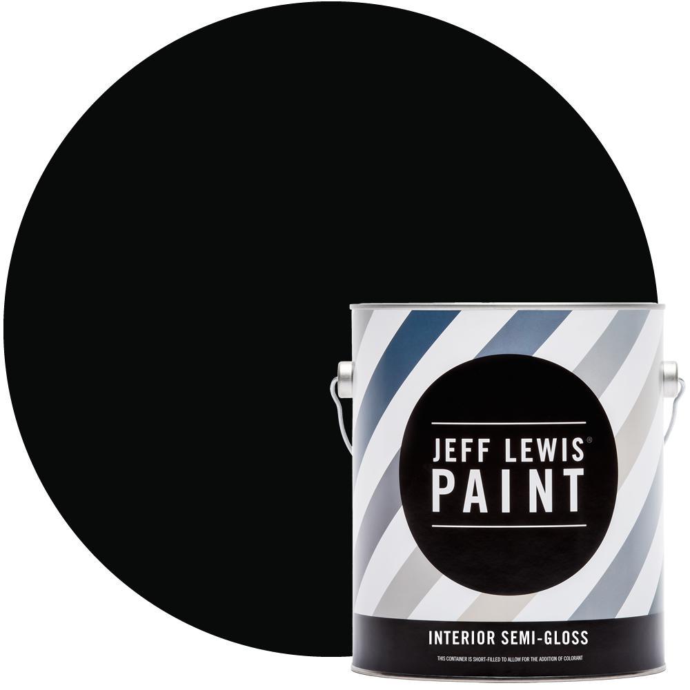 Jeff Lewis 1 gal. #417 Knight Semi-Gloss Interior Paint