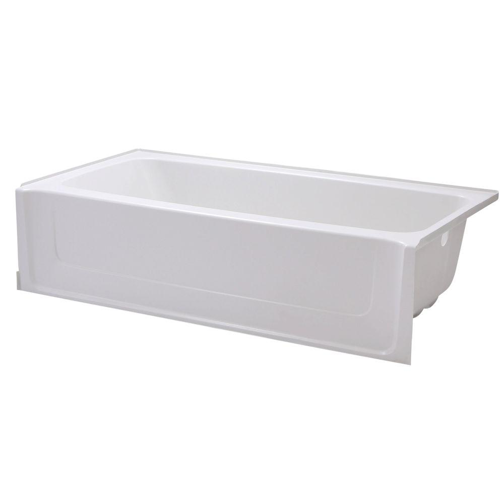 Sterling All Pro 5 Ft Right Drain Rectangular Alcove