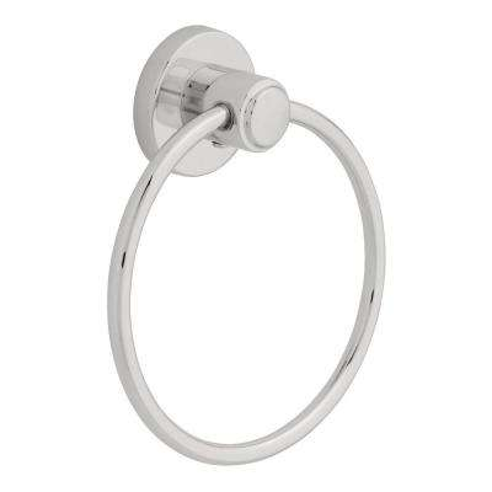 Tempra Towel Ring in Chrome