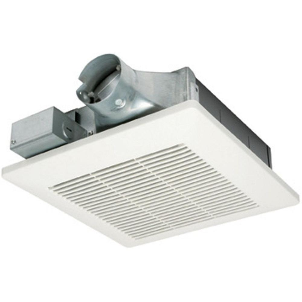Panasonic WhisperValue 80 CFM Ceiling or Wall Super Low Profile Exhaust Bath Fan ENERGY STAR*